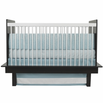 Oilo Raindrops 3 Piece Bedding Crib Set in Aqua