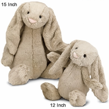 "Jellycat Bashful 12"" Medium Bunny in Beige"