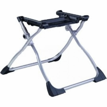 Peg Perego Navetta XL Bassinet Stand Black and Silver