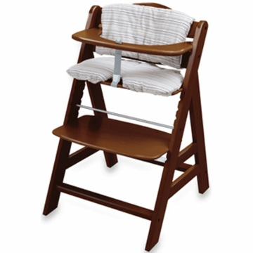 Hauck 2011 Alpha High Chair in Walnut