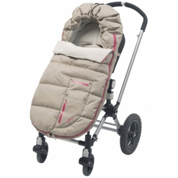 JJ Cole Bundleme Arctic Toddler Taupe