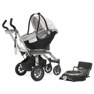 Orbit Baby Infant Car Seat Stroller System in Black and Slate