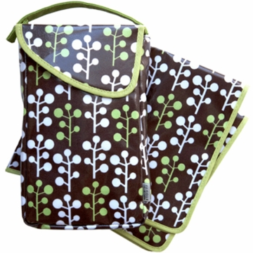 JJ Cole Diaper & Wipes Pod in Cocoa Tree