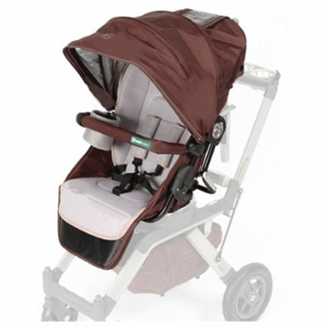 Orbit Baby Toddler Stroller Seat for Orbit Stroller in Mocha and Khaki