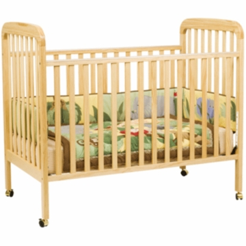 DaVinci Alpha 3-in-1 Stationary Convertible Crib Natural