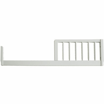 DaVinci Jenny Lind Crib Toddler Bed Conversion Rail Kit in Pearl White Finish