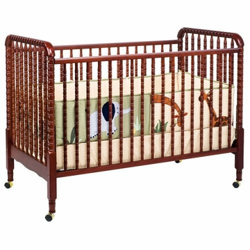 DaVinci Jenny Lind 3-in-1 Stationary Convertible Crib Cherry