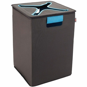 OXO Tot Flip-In Bin - Brown / Blue