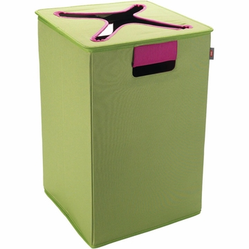 OXO Tot Flip-In Bin - Green / Pink