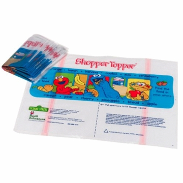 Neat Solutions Sesame Street 20 Count Shopper Topper