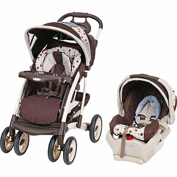 Graco Quattro Tour Deluxe Travel System - Deco