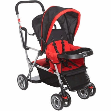 Joovy Caboose Stand on Tandem Red