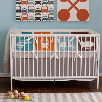 DwellStudio 4 Piece Baby Crib Bedding in Transportation