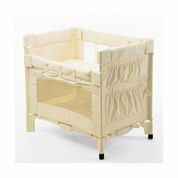 Arm's Reach Mini Co-Sleeper Bassinet in Natural