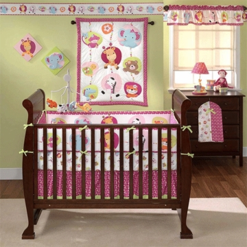 Bedtime Originals Tutti Frutti 4 Piece Crib Bedding Set