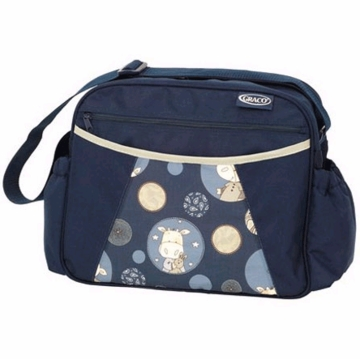 Graco Diaper Bag 640PWC1 in Patchwork Cow