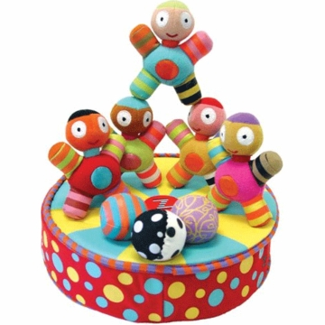 Kushies Zolo Stacrobats Magnetic Stacking Acrobats