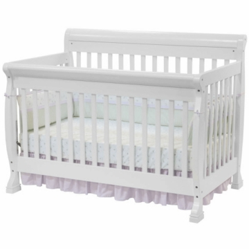 DaVinci Kalani 4-in-1 Convertible Crib in White