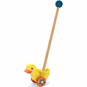 Melissa & Doug Flapping Duck Push Toy