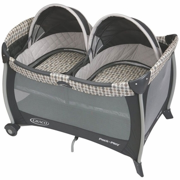 Graco Pack 'N Play with Twins Bassinet - Vance