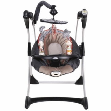 Graco 2010 Silhouette Infant Swing Sachi 1C08SNT