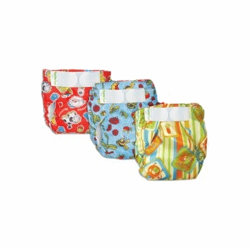 Bumkins Diaper Bundle - 6 Pack - Unisex (Medium)