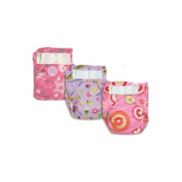 Bumkins Diaper Bundle - 6 Pack - Girl (Large)