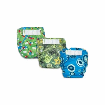Bumkins Diaper Bundle - 6 Pack - Boy (Medium)