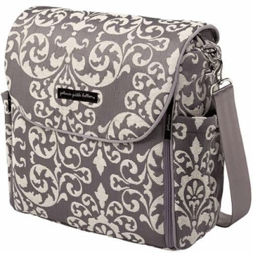 Petunia Pickle Bottom Boxy Backpack in Earl Grey