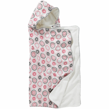 DwellStudio Zinnia Rose Hooded Towel