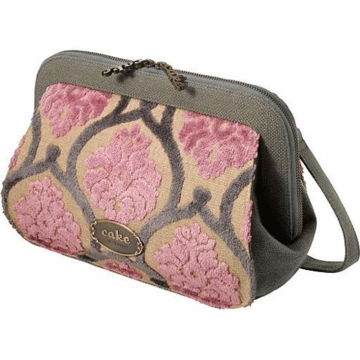 Petunia Pickle Bottom Cameo Clutch in Berry Chiffon Cake