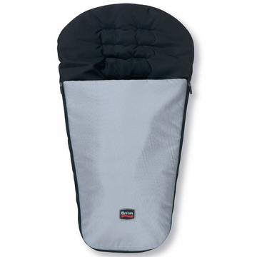 Britax B-Nimble Foot Muff in Black/Silver
