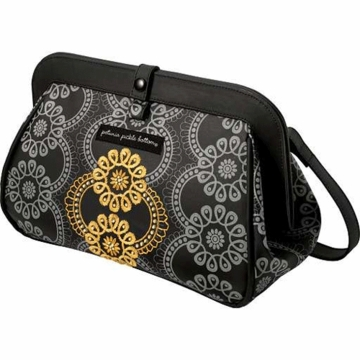 Petunia Pickle Bottom Cross Town Clutch in Evening in Innsbruck