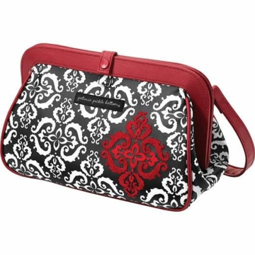 Petunia Pickle Bottom Cross Town Clutch in Frolicking in Fez
