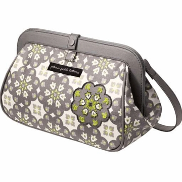 Petunia Pickle Bottom Cross Town Clutch in Misted Marseille