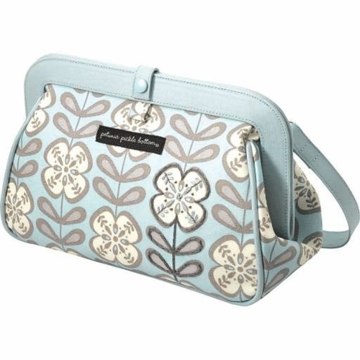 Petunia Pickle Bottom Cross Town Clutch in Peaceful Portofino