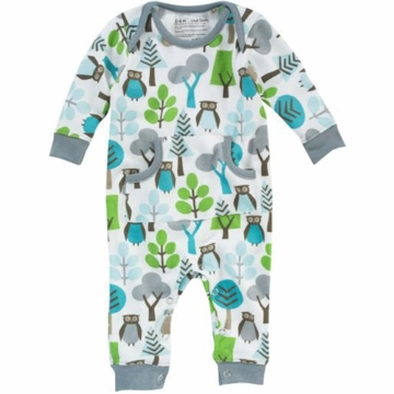 DwellStudio Owls Sky Long Sleeve Playsuit 6-12 Months
