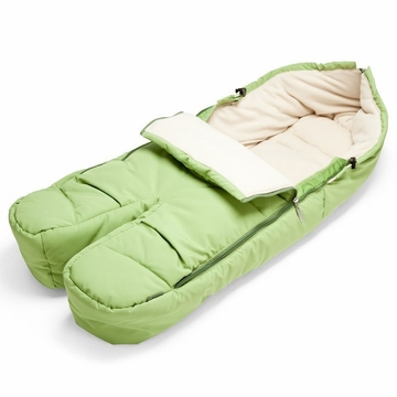 Stokke Footmuff in Light Green