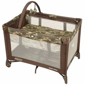 Graco Pack 'N Play with Bassinet, On The Go - Camo Joe