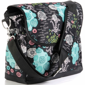 Timi & Leslie Messenger Diaper Bag in Aiko