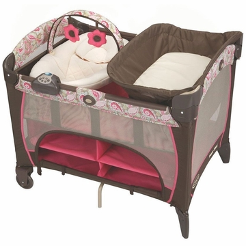 Graco Pack 'N Play Newborn Napper Station Deluxe - Jacqueline