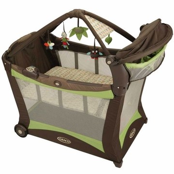 Graco Pack 'N Play Modern Playard with Toy Gym - Sleepy Hollow