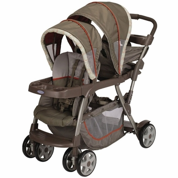 Graco Ready To Grow Stand and Ride Duo Stroller - Forester