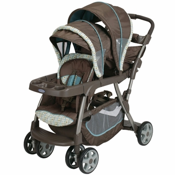 Graco Ready To Grow Stand and Ride Duo Stroller - Oasis