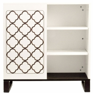 Billy Twinkle Changer Chest in Two Tone - Espresso and White by Nurseryworks