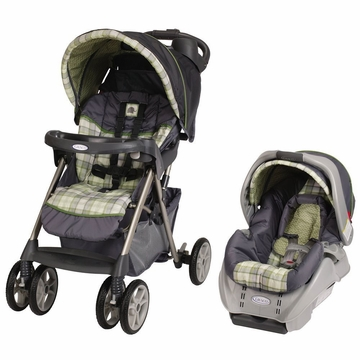 Graco Alano Classic Connect Travel System - Roman