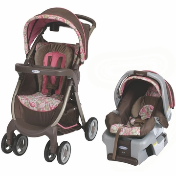 Graco FastAction Fold DLX Travel System - Jacqueline