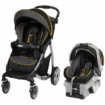 Graco Stylus Travel System Deluxe - Flare