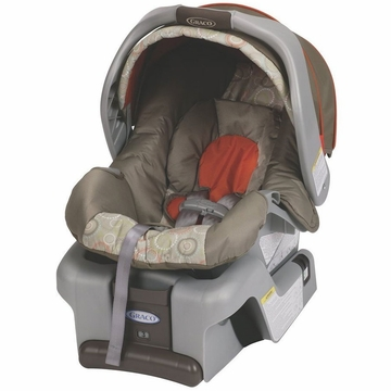 Graco Snugride Classic Connect 30 Front Adjust Infant Car Seat - Forecaster