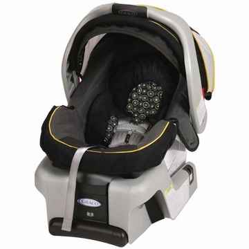 Graco Snugride Classic Connect 30 Front Adjust Infant Car Seat - Flare